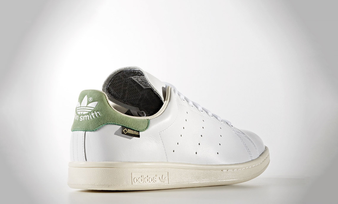 Stan Smith with a waterproof Gore-tex
